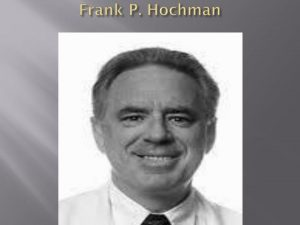 Mr. Frank Hochman - First ever Deaf Doctor